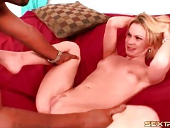 Skinny black girl gives head to monster cock tubes