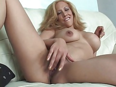 Solo latina with shaved box fingered lustily tubes
