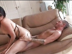 Sultry tranny bj and hot reverse cowgirl fuck tubes