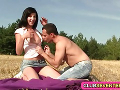 Slender teenie fucking outdoors tubes