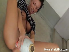 Extreme milf loves brutal fisting and insertions tubes
