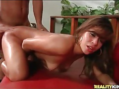 Fat cock gives latina slut anal sex tubes