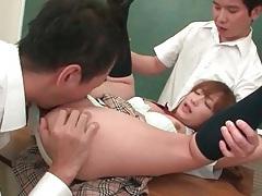 Japanese guys finger fuck schoolgirl slut tubes