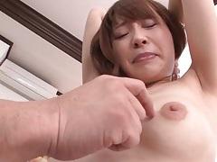 Caressing sweet young japanese girl tubes