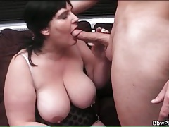 Sexy lingerie bbw sucks big cock tubes