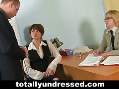 Dirty job interview for office babe tubes