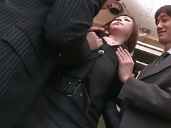 Office foreplay with sexy japanese girl tubes