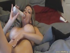 Home alone with a milf tubes