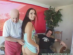 Kinky swinger wife screwed tubes