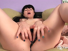 Awesome amateur siouxsie have fun with her toys tubes