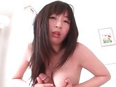 Fingering super hairy japanese pussy deep tubes