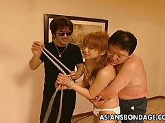Hot asian bondage masturbation scene tubes
