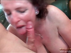 Chubby granny gives head and has hardcore sex tubes