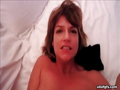 Wife on her back taking anal sex from him tubes