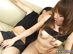 Japanese babe arisa kumada sucks and fucks uncensored tubes