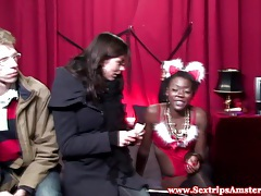 A sexy real dutch black hooker gets oralsex tubes