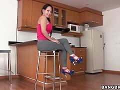 Latina paola teases her big sexy ass tubes