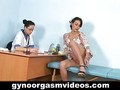 Lesbian doctor and sexy patient tubes