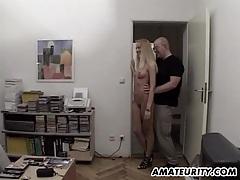 Amateur girlfriend sucks and fucks 3 dicks tubes