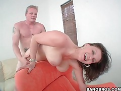 Fucking sara stone in three positions tubes
