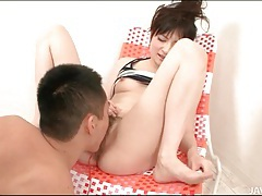 Hairy japanese pussy squirts in hot video tubes