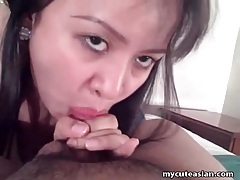 Curvy asian amateur cocksucker wants to fuck tubes