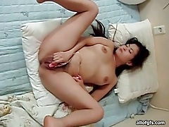Asian dude wants his lady to ride that cock tubes