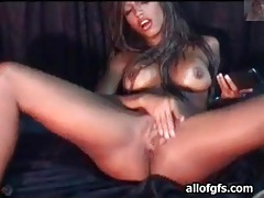 Soaking wet pussy of lusty webcam babe tubes