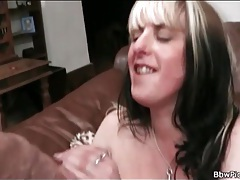 Sexy fuck on the couch with bbw slut tubes