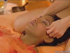 Lesbians love to get massages tubes