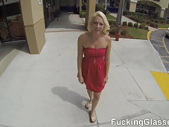 Fucking glasses - bj on a ride and backyard fuck tubes