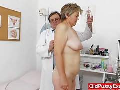 Wife gyno done right plus a medical-tool tube