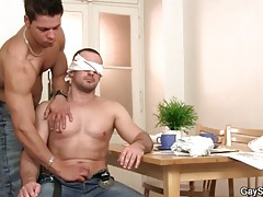 Tricked into a handjob from a gay guy tubes