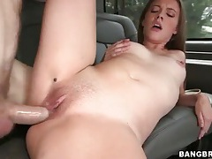 Big round ass girl lia ezra fucks in car tubes