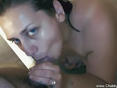 Bbw italian having a cum bath tube