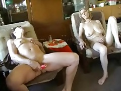 Mature titty sucking and dildo fuck video tubes