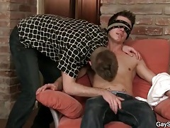 Gay guy sucks on straight cock for a thrill tubes