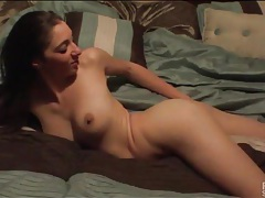 Cutie fucked doggystyle and taking a load tubes