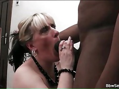 Giant black cock fucks white bbw slut tubes