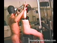Masked couple in naughty rimjob action tubes