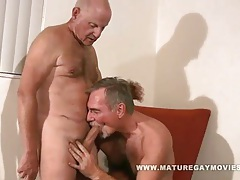 Two guys over 60 fuck each other tubes
