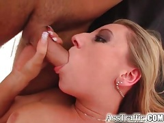 Double penetration sex with swallowing tubes