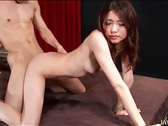 Cumshots and hot fucking with japanese beauty tubes
