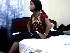 Sex and orgasm with indian girl in missionary tubes