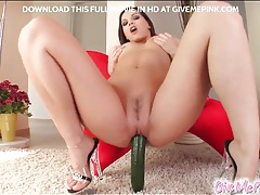 Veggies fuck the ass and pussy of babe tubes