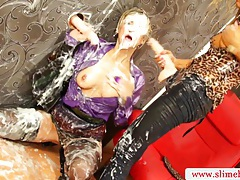 Strapon wielding femdom dominating tubes