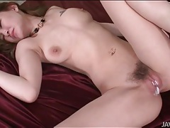 Creampie in japanese cunt is creamy and sexy tubes