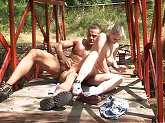 Young and busty joanna fucking outdoors tubes