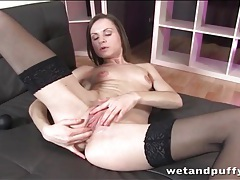 Teen anal fingering with stockings girl tubes