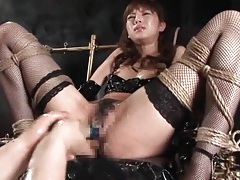 Wet japanese pussy fingering and squirting tubes